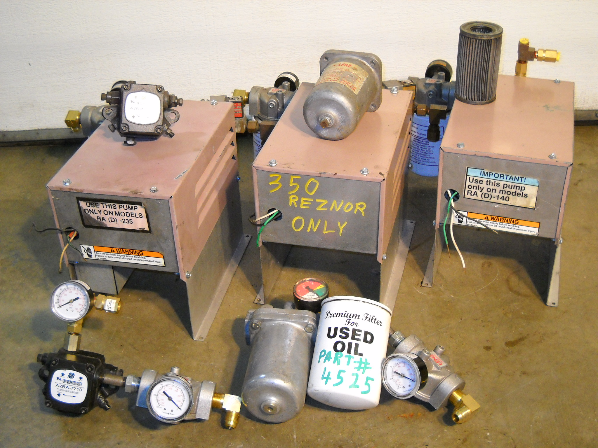 Reznor Page These Waste Oil Heaters Are Equiped With Air